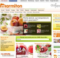 marmiton.org screenshot