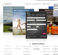 marriott.com screenshot