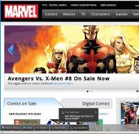 marvel.com screenshot