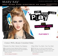 marykay.com screenshot