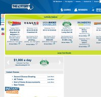 masslottery.com screenshot