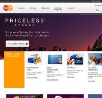 mastercard.com.au screenshot