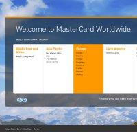 mastercard.com screenshot