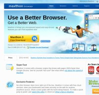 maxthon.com screenshot