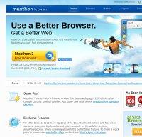 maxthon.com screenshot