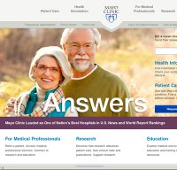 mayoclinic.org screenshot