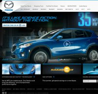 mazdausa.com screenshot