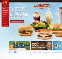 mcdonalds.com screenshot