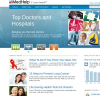 medhelp.org screenshot