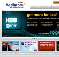 mediacomcable.com screenshot