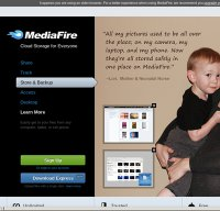 mediafire.com screenshot