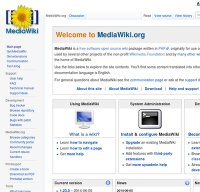 mediawiki.org screenshot