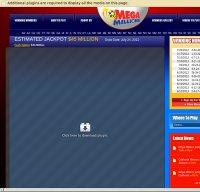 megamillions.com screenshot