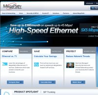 megapath.com screenshot