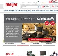 meijer.com screenshot