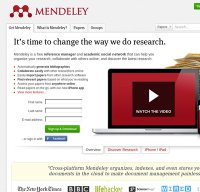 mendeley.com screenshot