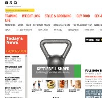 mensfitness.com screenshot
