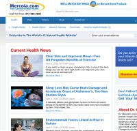 mercola.com screenshot