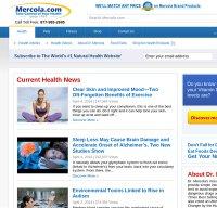 mercola.com screenshot