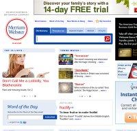 merriam-webster.com screenshot