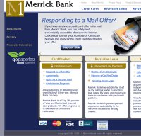 merrickbank.com screenshot
