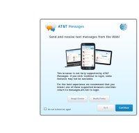 messages.att.net screenshot
