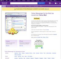 messenger.yahoo.com screenshot