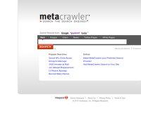 metacrawler.com screenshot