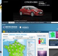 meteofrance.com screenshot