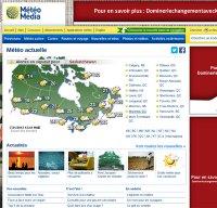 meteomedia.com screenshot