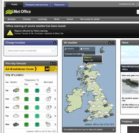 metoffice.gov.uk screenshot