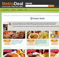 metrodeal.com screenshot
