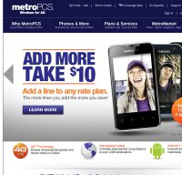 metropcs.com screenshot