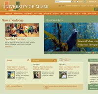 miami.edu screenshot