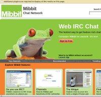 mibbit.com screenshot