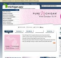 michigan.gov screenshot