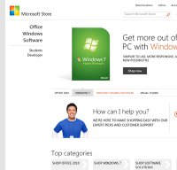 microsoftstore.com screenshot