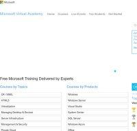 microsoftvirtualacademy.com screenshot
