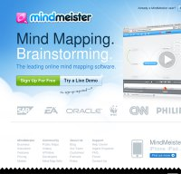mindmeister.com screenshot
