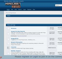 minecraftforge.net screenshot