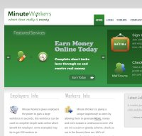 minuteworkers.com screenshot