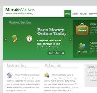 minuteworkers.com screenshot