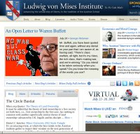 mises.org screenshot