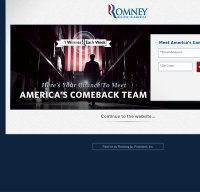 mittromney.com screenshot