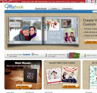 mixbook.com screenshot