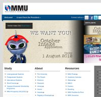 mmu.edu.my screenshot