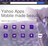 mobile.yahoo.com screenshot