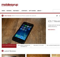 mobilesyrup.com screenshot