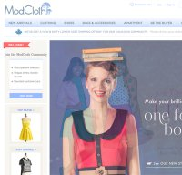 modcloth.com screenshot