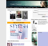 modelmayhem.com screenshot